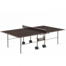 Теннисный стол Olympic Outdoor - стол для настольного тенниса с влагостойким покрытием для использования на открытых площадках дач, загородных домов.